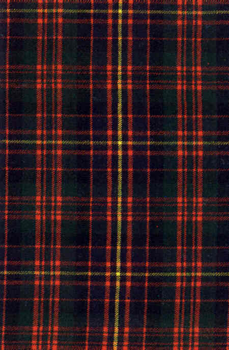 Cameron Tartan Old Motto: Mo righ's Mo dhuchaich - For King and Country