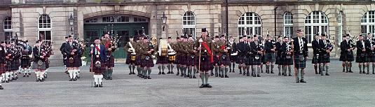 Pipes & Drums of the Highlnaders and Associations
