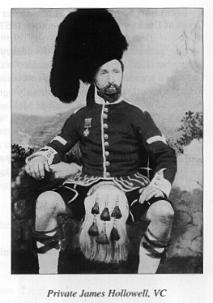 Pte James Hollowell VC 78th Highlanders