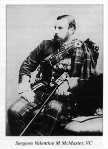 Surgeon V  McMaster VC 78th Highlanders