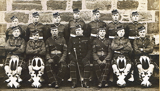 1935 Fort George, July Squad.
