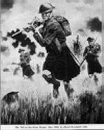 The last time the kilt was worn in war
