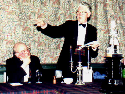 Queen's Own Cameron Highlanders Annual Dinner Year 2000